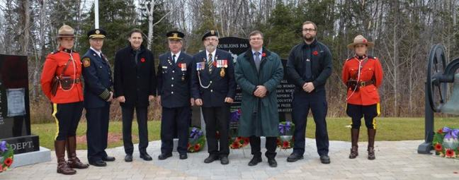 Charlo Rememberance Day Ceremony