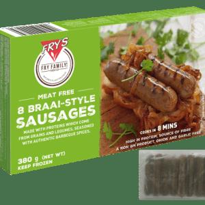 8 Braai-Style Sausages