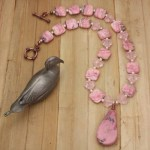Image of Rhodochrosite Necklace by Denise Hershey