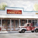 Image of Gone To Town Art by Lane Clem