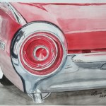 Image of 62 T-Bird art by Lane Clem