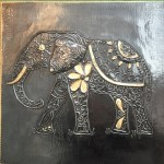 Image of Tile with Elephant by Barbara Sedgwick