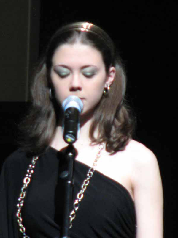 Soloist Laura Intravia
