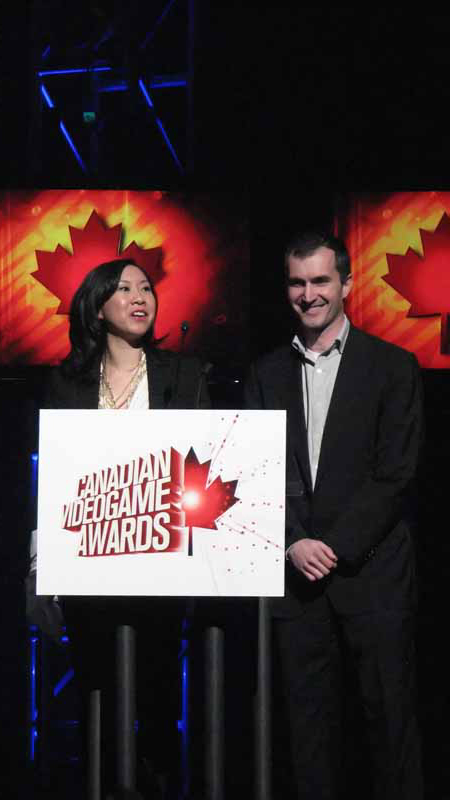 Pam Chow and Bertrand Helias