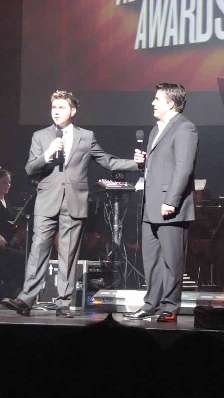 Victor Lucas and Ron Bertram