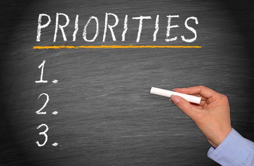 Priorities, What are Yours?