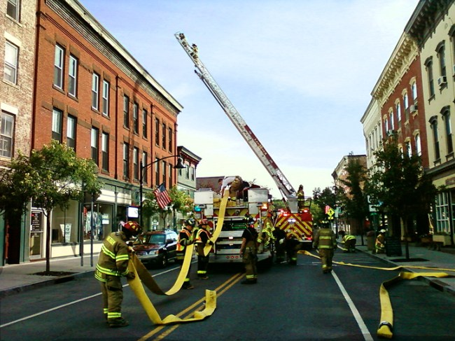 New Ladder Truck drill