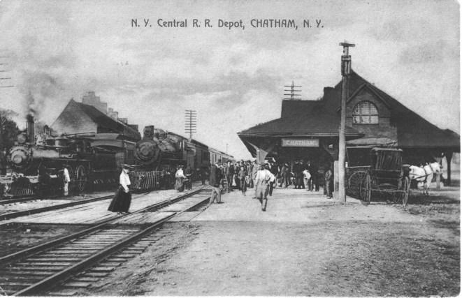 1916 - Chatham Depot (greyscale)