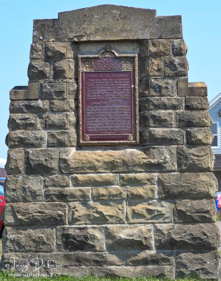 Battle of the Petitcodiac Monument
