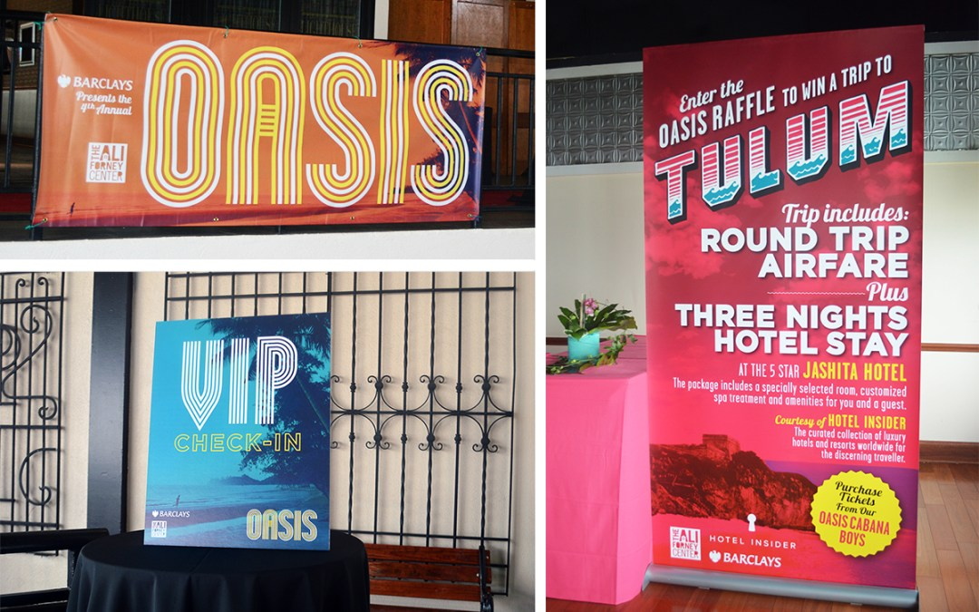 Large Format Event Graphics