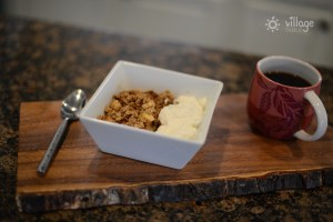 Apple cinnamon baked oatmeal - This is a great one that my kids love. Leftovers will microwave well the next day. You can also make it ahead of time and freeze a pan. I serve mine with greek yogurt to add a dairy protein source.