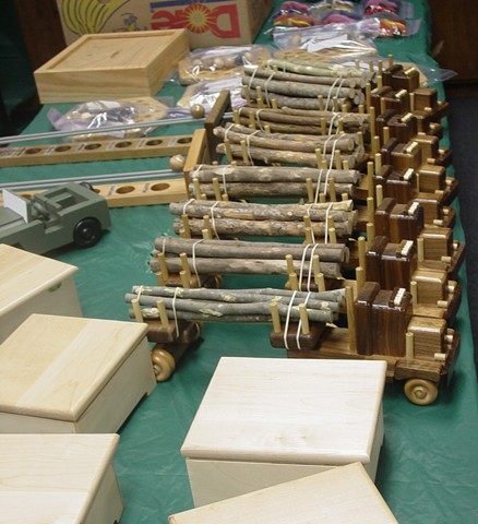 HS Village Woodworkers 2012 Christmas Toys Project