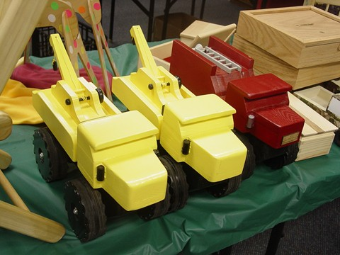 Christmas Toys for Masonic Lodge 365 from HSV Woodworkers Club