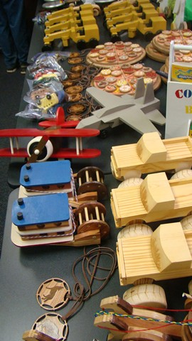 2015 Village Woodworkers Toy Donations