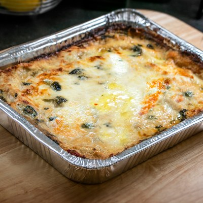 Family Style Vegetable Lasagna