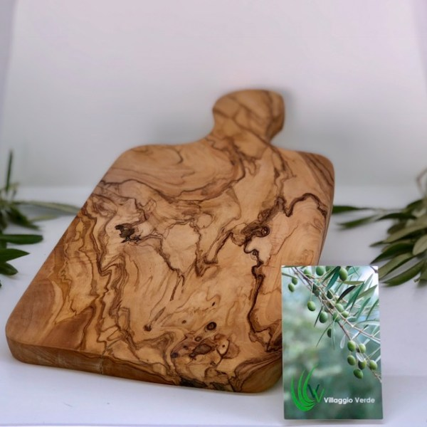 Olive Wood Parsley Board