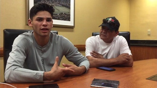 RYAN GARCIA RESPONDS TO GOLDEN BOY PROMOTIONS