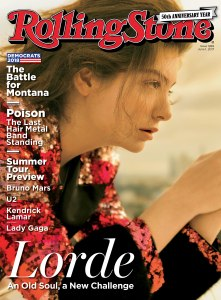 Lorde's Rolling Stone Cover