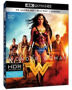 Gal Gadot, Wonder Woman, DVD
