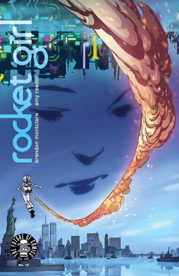 Brandon Montclare, Rocket Girl #10, Image Comics