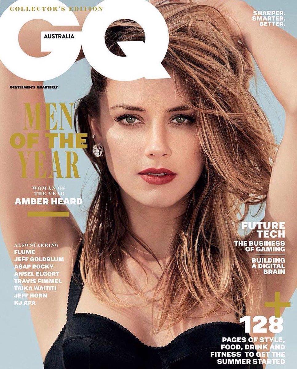 Amber Heard GQ Australia, Woman of the Year,