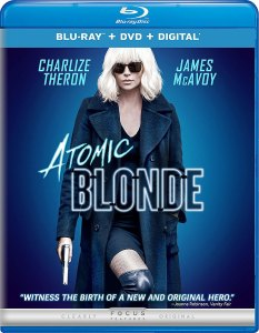 Atomic Blonde DVD, Charlize Theron