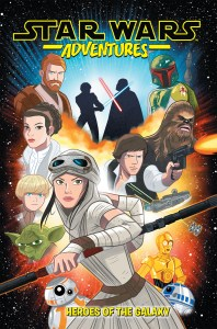 Star Wars Adventures Vol. 1, Heroes of the Galaxy,