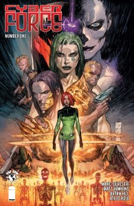 Cyber Force #1, Image Comics
