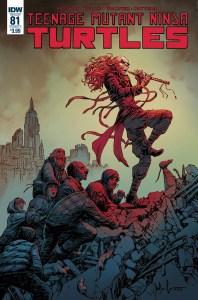 Teenage Mutant Ninja Turtles #81, IDW Publishing