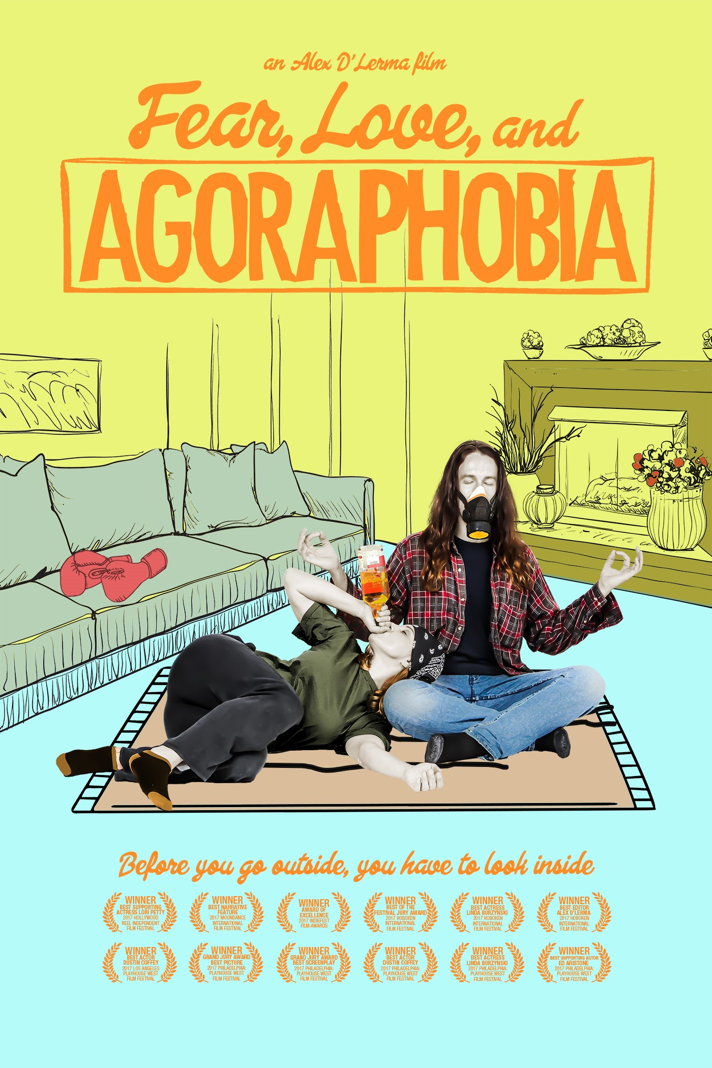 Fear, Love, And Agoraphobia, Alex D'Lerma