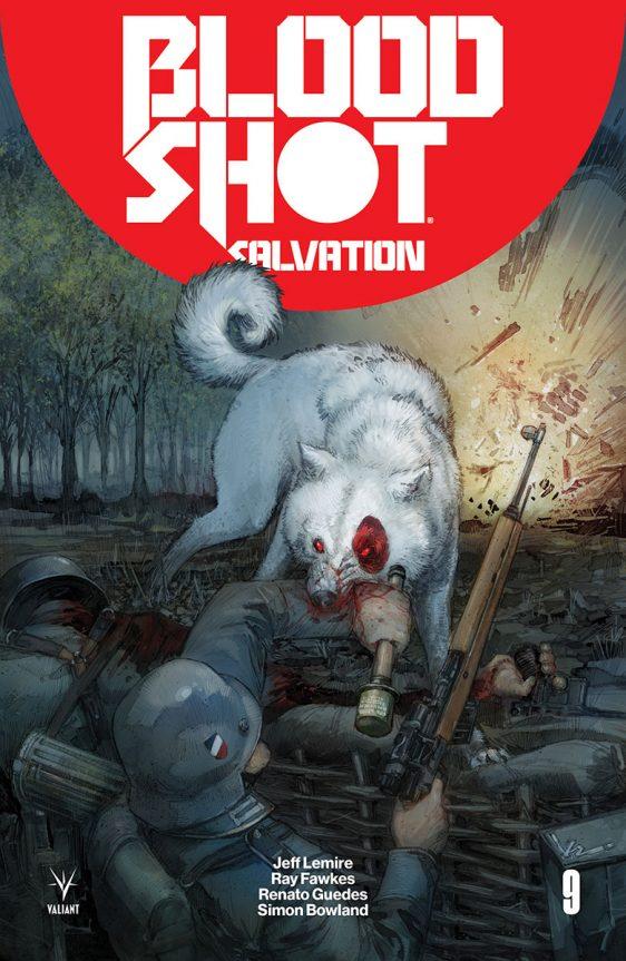 Bloodshot Salvation #9, Valiant