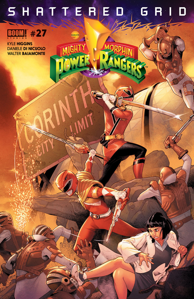 Power Rangers #27, BOOM! Studios