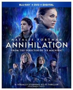 Annihilation DVD, Natalie Portman