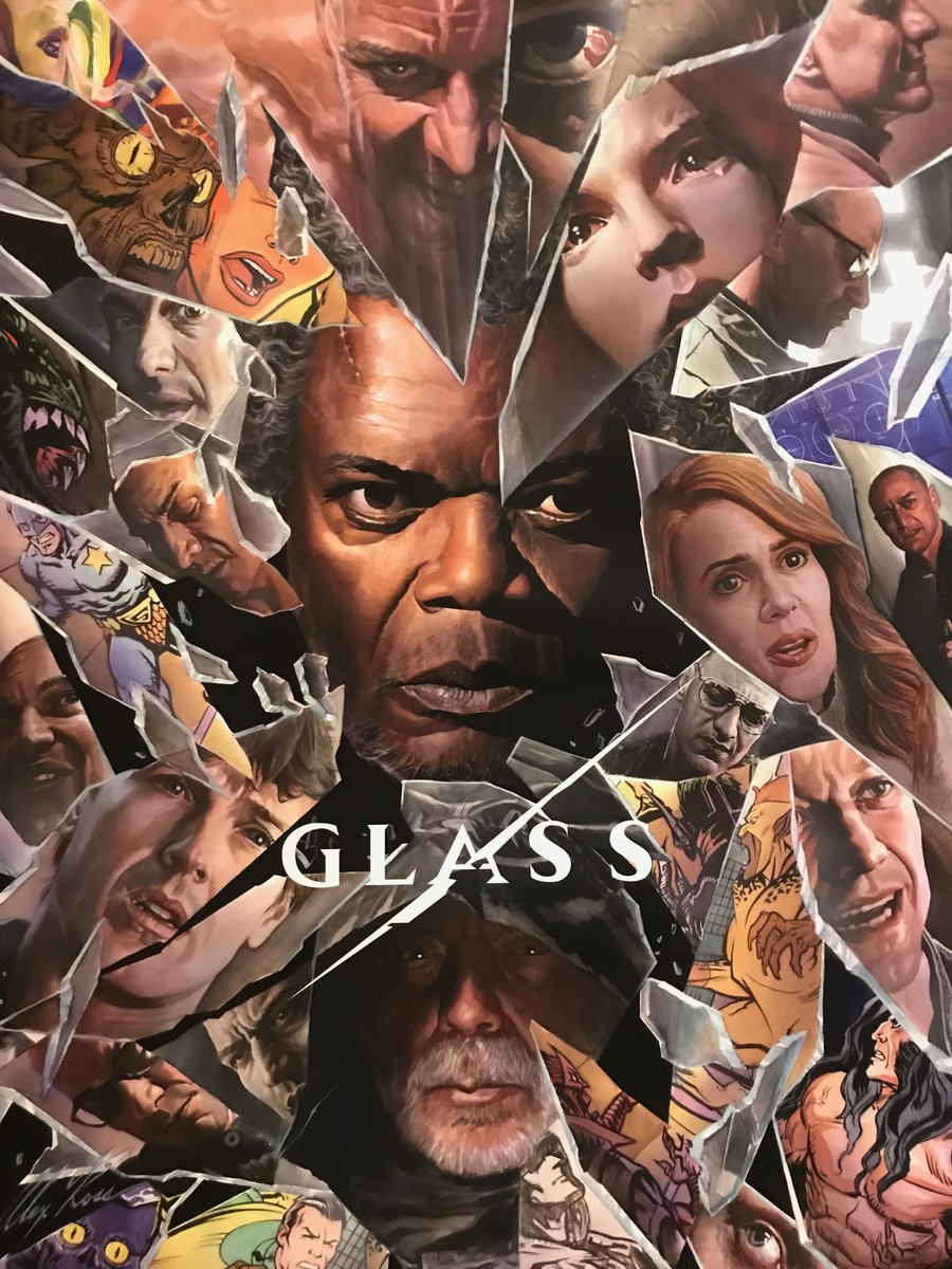 Glass Official Trailer, Bruce Willis