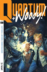 Quantum + Woody! #8, Valiant Entertainment,
