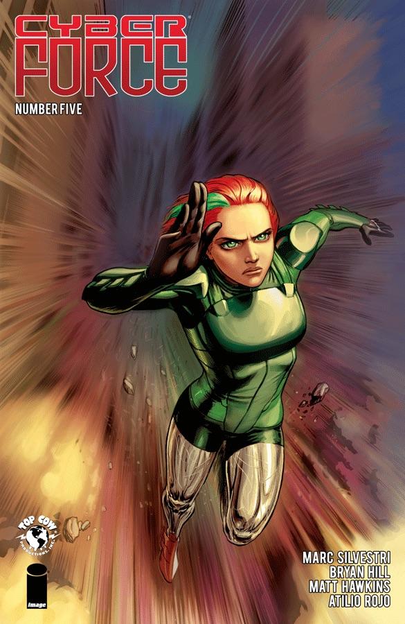 Cyber Force #5, Image Comics