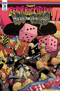 TMNT: Bebop & Rocksteady #3, IDW Publishing