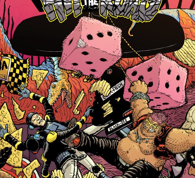 5 Reasons To Get 'TMNT: Bebop & Rocksteady Hit The Road' #3!