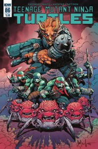 Teenage Mutant Ninja Turtles #86, IDW Publishing