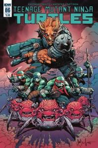Teenage Mutant Ninja Turtles #86, IDW Publishing