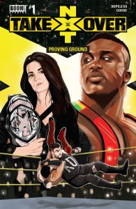 WWE NXT Takeover: Proving Ground #1, BOOM! Studios