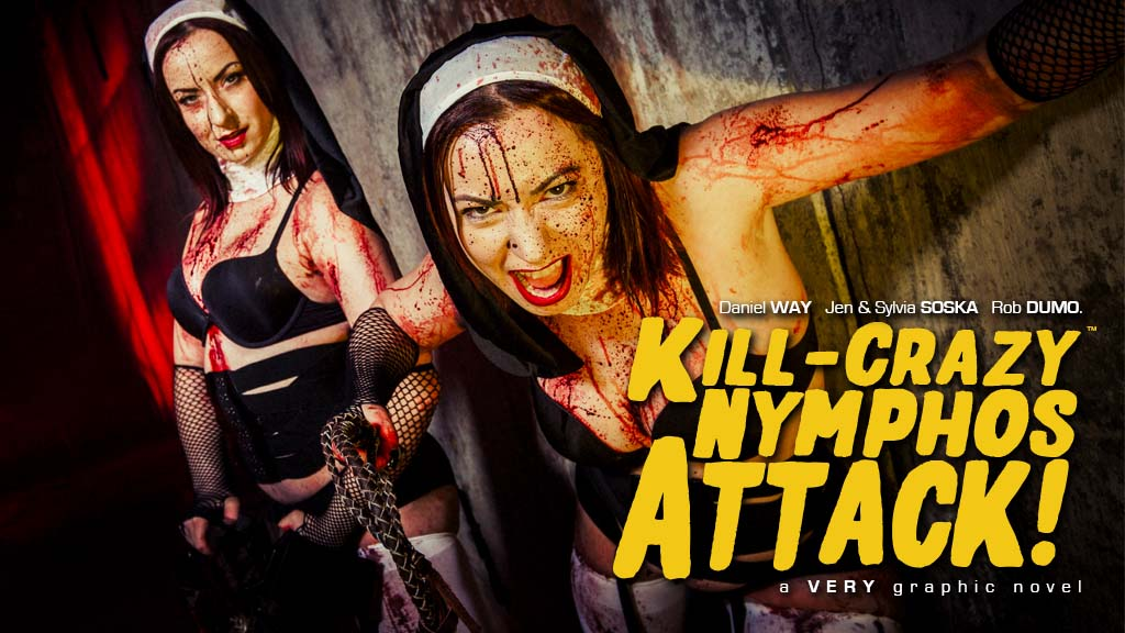 Kill-Crazy Nymphos ATTACK, Twisted Twins