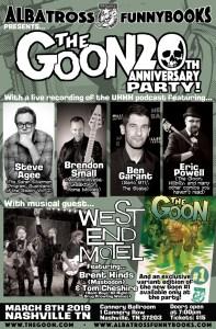 Goon 20th Anniversary Party, Eric Powell