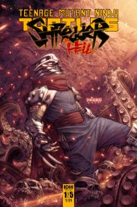 Shredder Hell #1, IDW Publishing