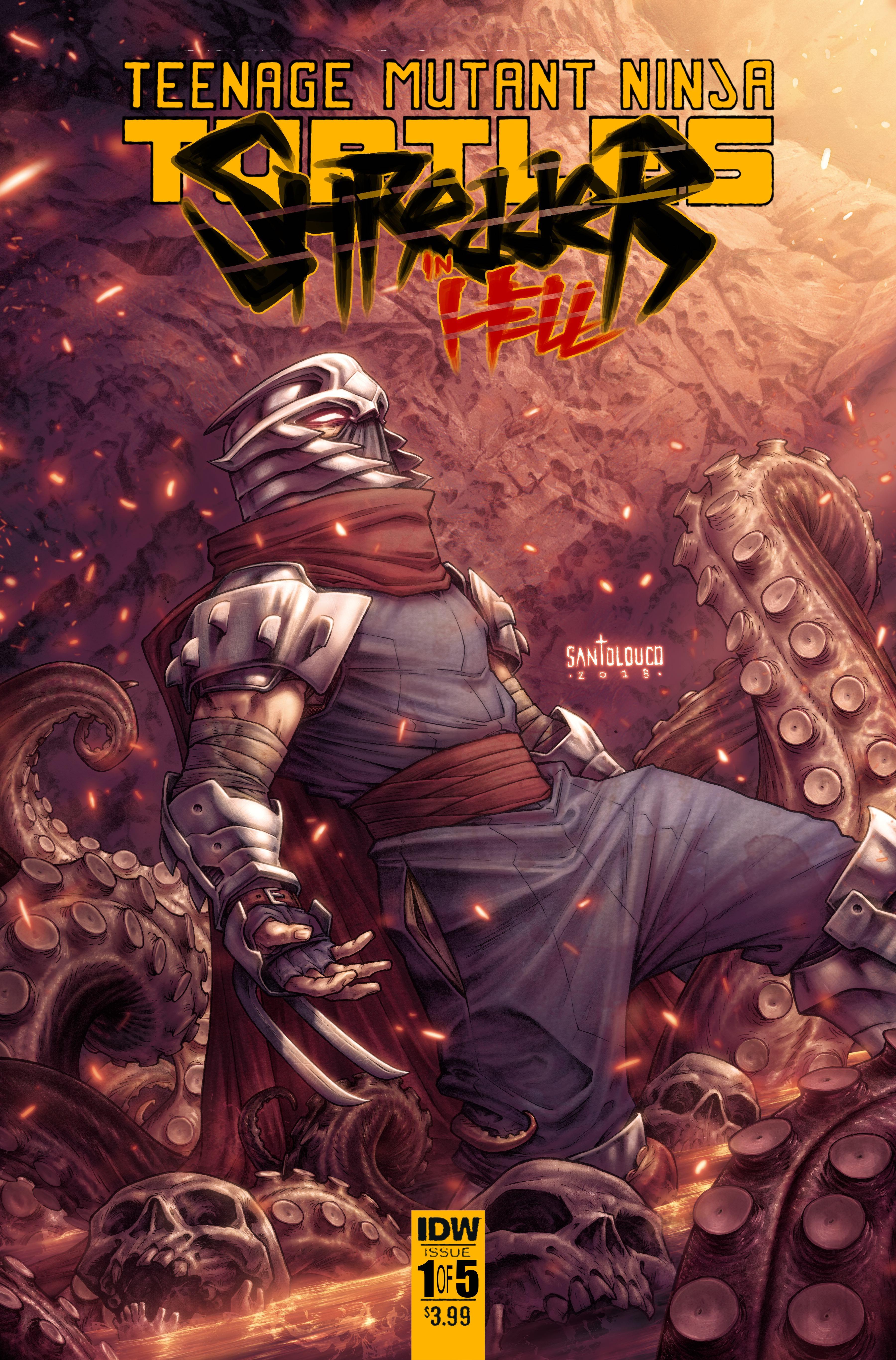 Shredder Hell #1, IDW Publishing