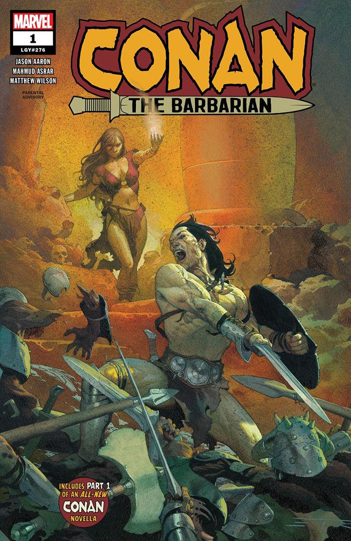 Conan Barbarian #1, Marvel Comics