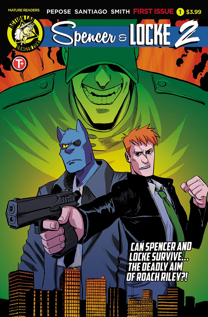 Spencer & Locke 2 #1, David Pepose, Spencer Locke 2, Action Lab