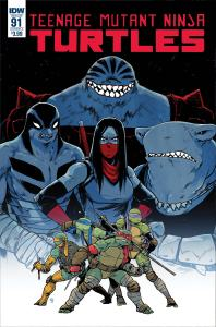 Teenage Mutant Ninja Turtles #91, IDW Publishing