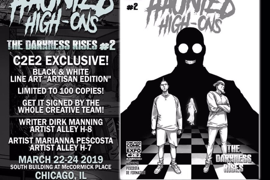 5 Reasons To Get 'Twiztid Haunted High-Ons: The Darkness Rises #2' At C2E2!