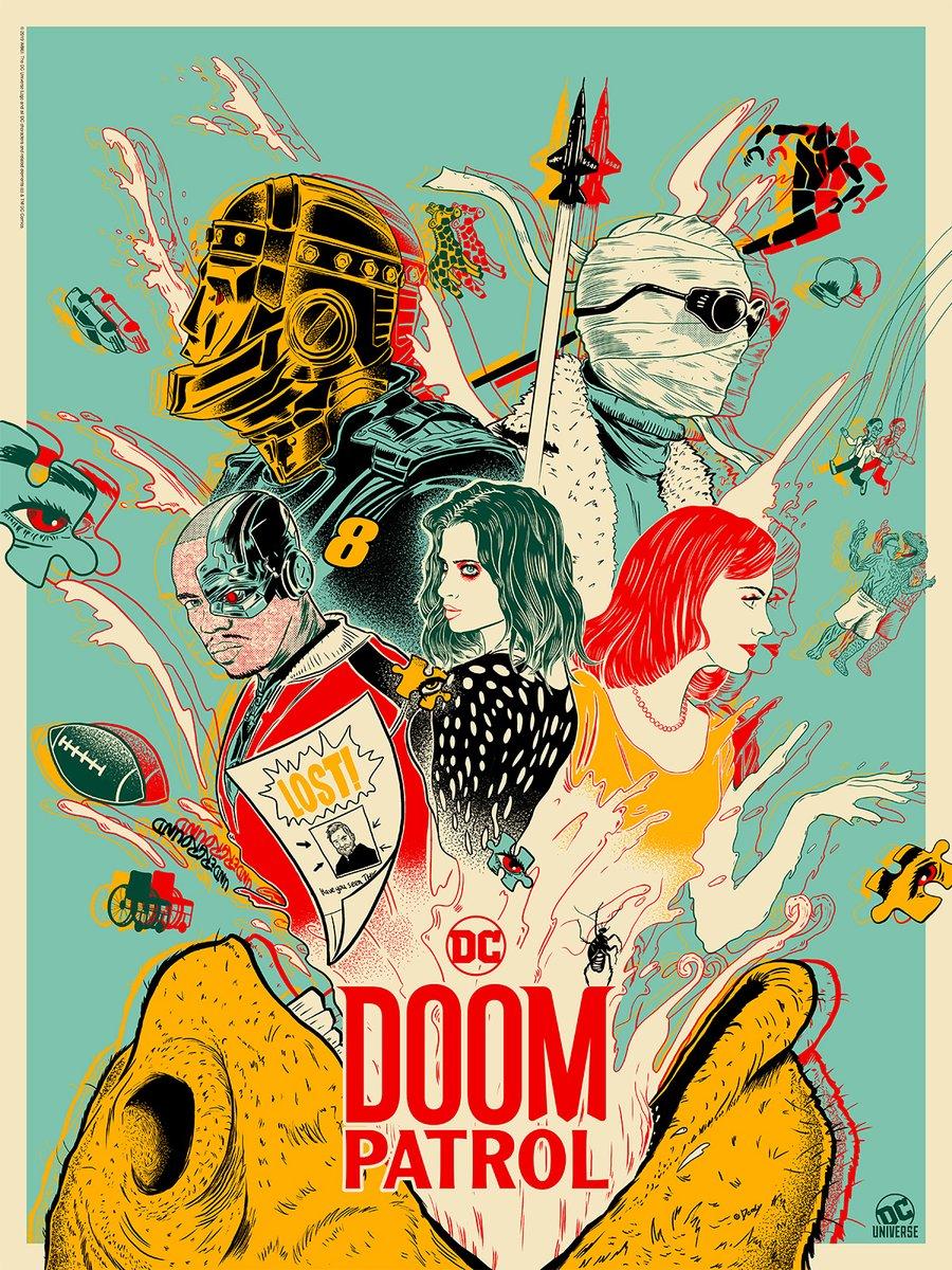 Doom Patrol Episode 7, DC Universe
